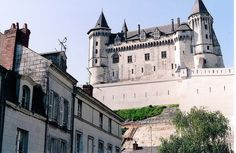 Loire River Valley, Saumur Chateau by m. muraskin-france, via Flickr.