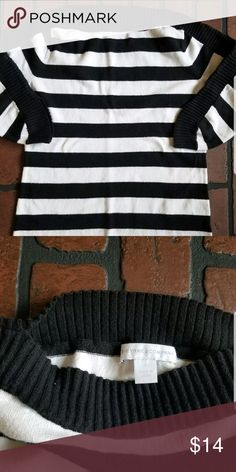 e3d2efe07c3d7 New York and company striped shirt top small Good used condition. Box N New  York