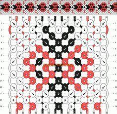 Normal Friendship Bracelet Pattern #5783 - BraceletBook.com