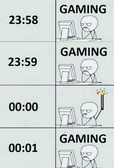 Just because we are gamers doesn't mean we don't celebrate...
