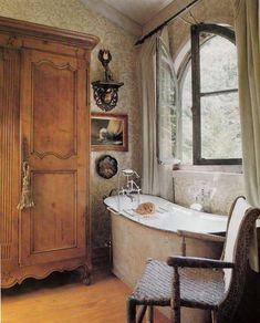 Cozy bathtub