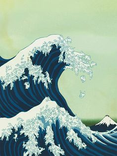 The Great Wave Off Kanagawa: Rabbit Edition Photo: This Photo was uploaded by s. The Great Wave Off Kanagawa: Rabbit Edition Photo: This Photo was uploaded by sm_artsy. Find other The Great Wave Off Kanagawa: Rabbit Edition pictures . Hokusai Great Wave, Arte Peculiar, Art Asiatique, Art Japonais, Ouvrages D'art, Art Et Illustration, Japanese Prints, Japanese Waves, Japanese Style