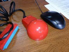 Soviet vintage computer mouse