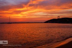 Sunset in Naxos by andrant  apollo apollon canon cloud cloudscape cloudy cyclades door god great greece greek greek_sunset holid