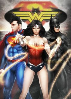 """Wonder Woman... we all know... """"Girls will save the day... and can do it better"""""""