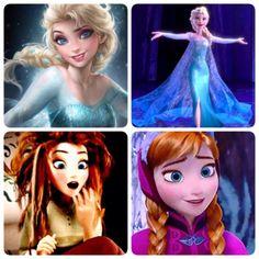 Elsanna #disney #frozen