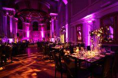 Pretty setup at this #pink #uplighting #wedding #reception! #diy #diywedding #weddingideas #weddinginspiration #ideas #inspiration #rentmywedding #celebration #weddingreception #party #weddingplanner #event #planning #dreamwedding