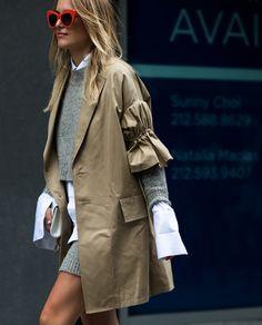 khaki parka #streestyle #pixiemarket #nyfw #fashion #womenclothing @pixiemarket