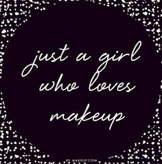 just a girl who loves make up #makeupaddict #beautychat #prettycolours