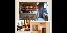 Paris Restaurants, Liquor Cabinet, Entryway, Storage, Furniture, Home Decor, Entrance, Purse Storage, Decoration Home