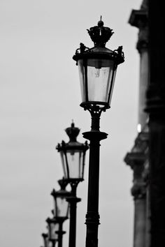 Paris Lampadaire