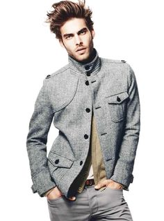 Jon Kortajarena.  Spanish model.