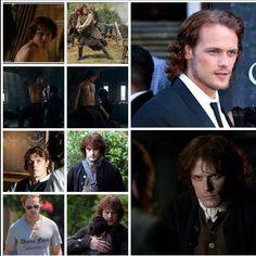 Amazing collage of Sam heughan/ Jamie Fraser credit to @vrowark #Outlander #loveforsam #samheughan #jamiefraser  (at City of Richland Center)