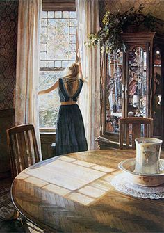 Artifacts Gallery - Inside Looking Out by: Steve Hanks - Water Color Master