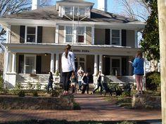 Sorority Initiation February 2013, University of North Carolina at Chapel Hill
