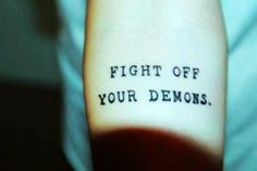 Black Arm Quote Tattoos for Girls - Cute Arm Quote Tattoos for Girls