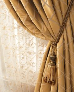 """Paramount"" Curtains & ""Vienna"" Sheers at Neiman Marcus."