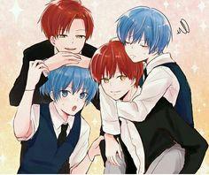 KarmaGisa with their future self ♡♡