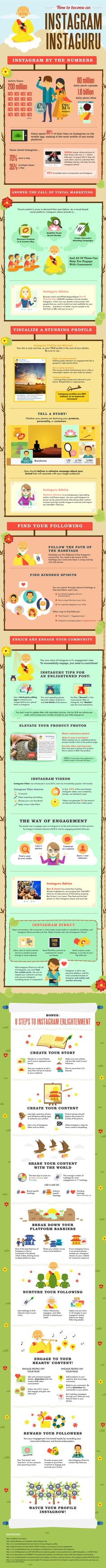 Do you ask yourself each day how you can gain more followers on Instagram? Here are some powerful tips on how to become a guru on Instagram marketing.