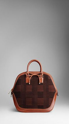 The Burberry Orchard bag in Check Jacquard