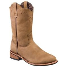 RedHead Destry Western Boots for Ladies - Brown - 7.5 M
