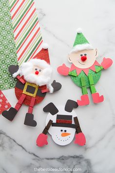 Clothespin Christmas Crafts - The Best Ideas for Kids- All activities should be . Clothespin Christmas Crafts - The Best Ideas for Kids- All activities should be supervised by an adult. Christmas Recipes For Kids, Fun Christmas Games, Christmas Activities For Kids, Easy Diy Crafts, Christmas Crafts For Kids, Kids Christmas, Simple Christmas, Holiday Crafts, Fun Crafts