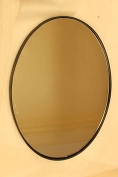 Any size made to special order. Oval shaped mirror hand made in black iron, can also be made in oxidised bronze, iron, nickel plate, polished or brushed stainless steel or copper. Convex Mirror, Oval Mirror, Traditional Mirrors, Brushed Stainless Steel, Bespoke, Contemporary Mirrors, Bronze, Metal