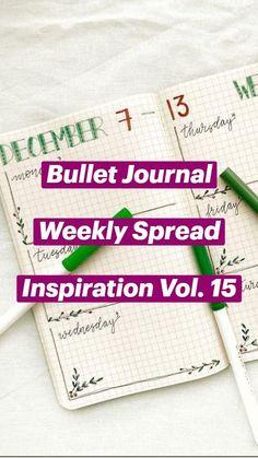 Bullet Journal With Calendar, Daily Bullet Journal, Bullet Journal Weekly Layout, Bullet Journal For Beginners, Bullet Journal Cover Ideas, Bullet Journal Lettering Ideas, Bullet Journal Notebook, Bullet Journal Spread, Bullet Journals