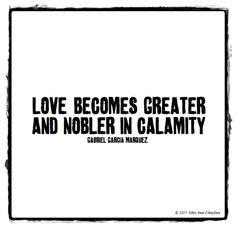 amor en el tiempo de colera....  love in the time of cholera