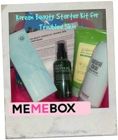 Memebox Korean Beauty Starter Kit- Troubled Skin #beginwithskin2 | Unboxing Beauty