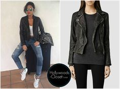 Shay Mitchell | Instagram Picture Shay snapped a Instagram picture recently wearing a All Saints Cargo Biker Jacket. You can purchase this from Allsaints for $540.00 Buy this here