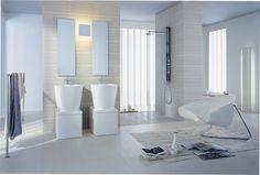 Strakke design badkamer