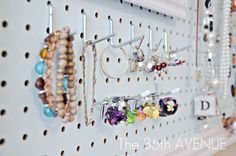 The 36th AVENUE | Peg Board and Accessories Station | The 36th AVENUE