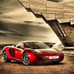 Stunning Red McLaren MP4-12C! out of this world!
