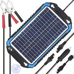 TEST LED plug for Portable Solar Panel Battery Charger Sae Car motorcycle Jetski