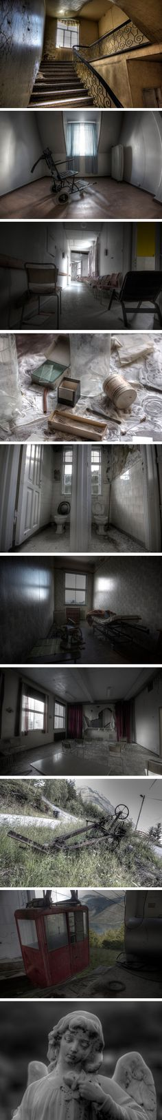We've covered numerous abandoned hospitals to date, but this derelict sanatorium…