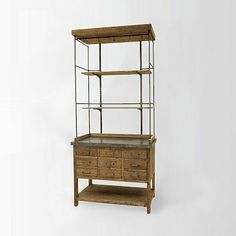 Display Bookcase from West Elm: fits my natural history museum-esque tastes perfectly
