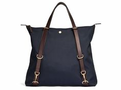 M/S Day Pack– Navy/Dark Brown - Backpack - Mismo - 1