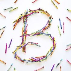 B for Becca! @36daysoftype invited me to create a B to kick off their second day of #36daysoftype. #36days_B #handcrafted #crayons