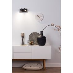 Zuiver Marble Time Wandklok - 25 cm