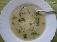 Karfiolová polievka s tvarohom krémová - Recept