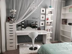 Make Up Vanity for Bedroom Luxury My Vanity Bedroom Decor Bedroom Vanity Bedroom Makeup Vanity, Vanity Room, Makeup Rooms, Diy Vanity, Vanity Set, Vanity Chairs, Vanity Decor, Bedroom Vanities, Mirror Room