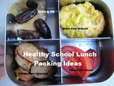 Packing a Lunch:  Healthy Food To Go