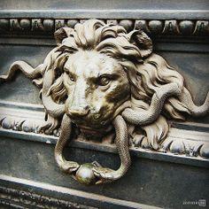 Brass door knocker - Paris