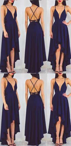 Long Prom Dresses 2017, Prom Dresses 2017, Long Prom Dresses, 2017 Prom Dresses, Sexy Prom dresses, High Low Prom Dresses, Prom Long Dresses, Princess Prom Dresses, Prom Dresses Long, High Low Dresses, A-line Evening Dresses, Navy Princess Evening Dresses, A-line Long Evening Dresses, Navy Evening Dresses, A-line/Princess Prom Dresses, Navy A-line/Princess Prom Dresses, A-line/Princess Long Prom Dresses, Deep V-neck High Low  Sexy Lon