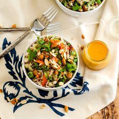 Wendy Polisi shares Crunchy Asian Quinoa Salad #udisglutenfree