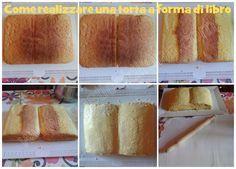 how to make a book cake my tutorial for dummies ____________________ Come realizzare una torta a forma di libro