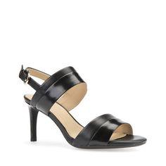 AUDIE Shoes Sandals, Heels, Slingback Sandal, Black, Women, Style, Fashion, Heel, Swag