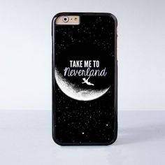 Peter Pan Take me to neverland Plastic Phone Case For iPhone 6 More Style For iPhone 6/5/5s/5c/4/4s: