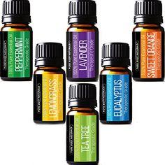 Pure Body Naturals Therapeutic Grade Top 6 Essential Arom...